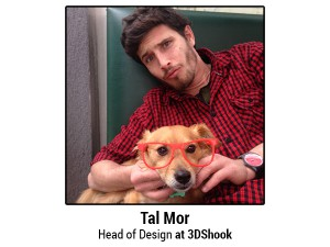 tal mor head of design 3dshook