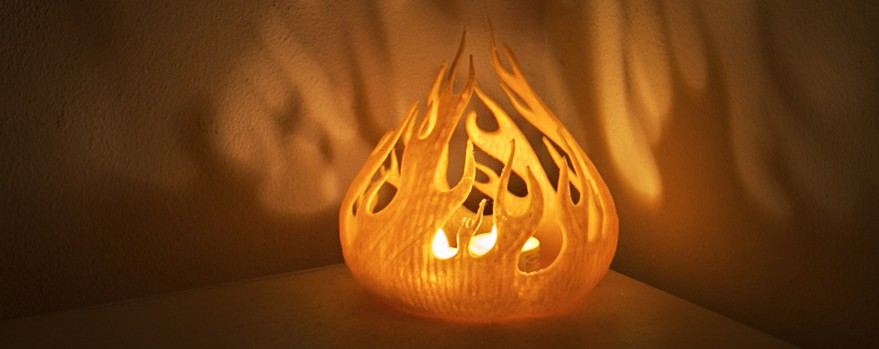 theflame candle holder copy