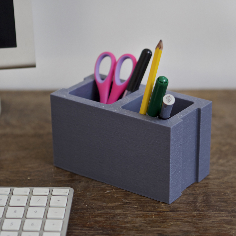 3dshook3d printable clocks and cool desk organizers