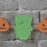 HALLOWEEN – frankenstein chain deco