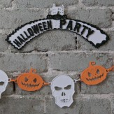 HALLOWEEN – party sign