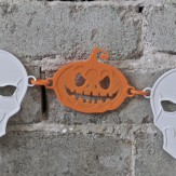 HALLOWEEN – pumpkin chain deco