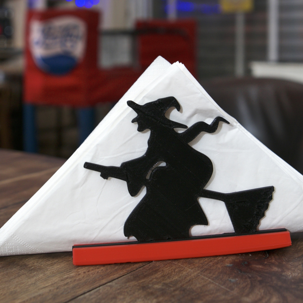 3dshook halloween witch napkin holder
