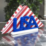 July4 napkin holder – USA