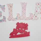 SKELA girls bedroom sign