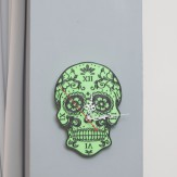 SugarSkull wall clock