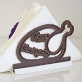 Thanksgiving – turkey dinner napkin holder
