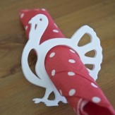 Thanksgiving – turkey napkin ring
