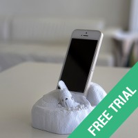 the SPARTANS smart device holder Trial