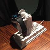 the SPARTANS Apple Watch charging dock